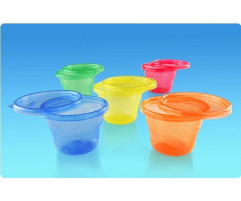 Nuby 6 snack cups - 118 ml