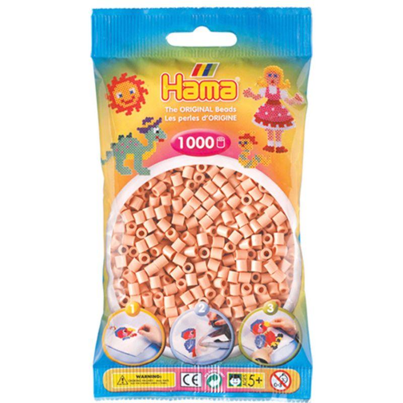 Hama perler midi 1000 stk - lys hudfarve-26