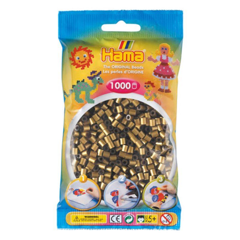 Hama perler midi 1000 stk - bronze-63