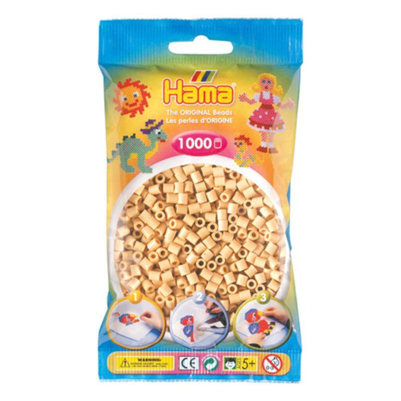 Hama perler midi 1000 stk - beige-27
