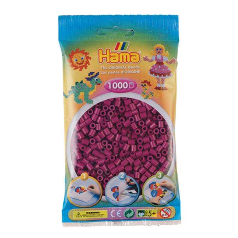 Hama perler midi 1000 stk - blomme-82