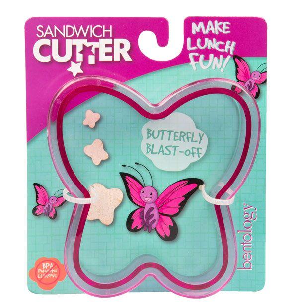 Sandwich cutter/Udstikker til brød - sommerfugl