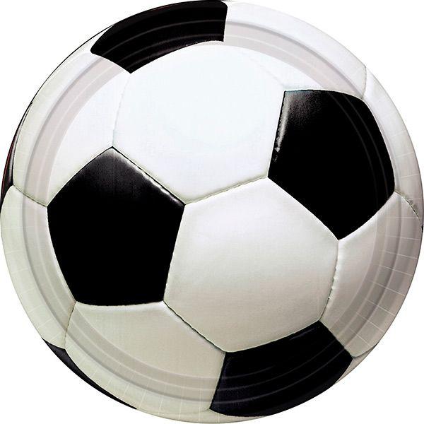 Fodbold tallerkner