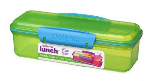 Sistema Snack Attack grøn/blå