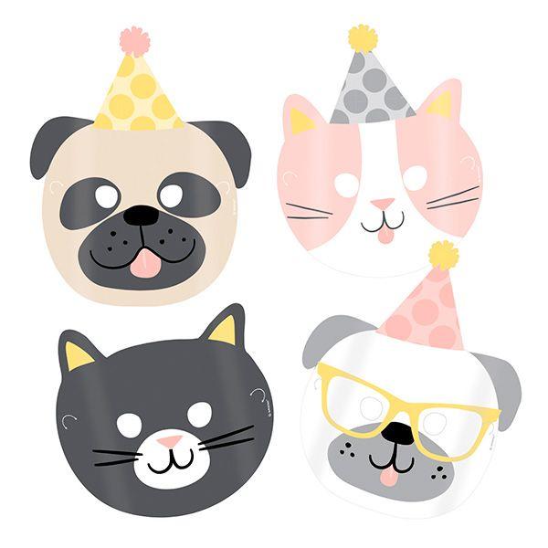 Masker med dyremotiver
