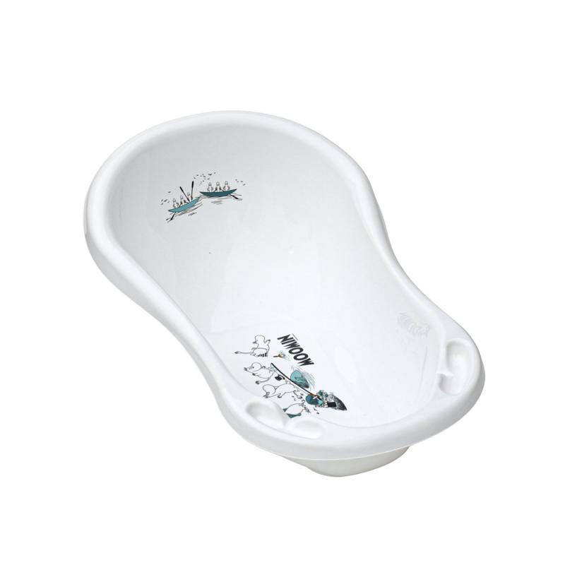 Mumi badekar - Hvid