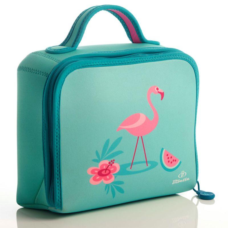 Neopren køletaske fra Bibetta - Flamingo